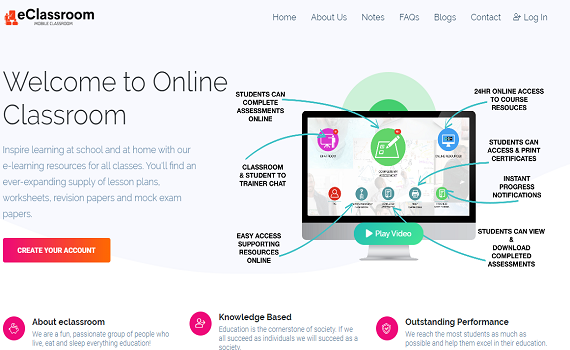 Online Teaching Platform: Breaking the barriers of education with virtual classroom